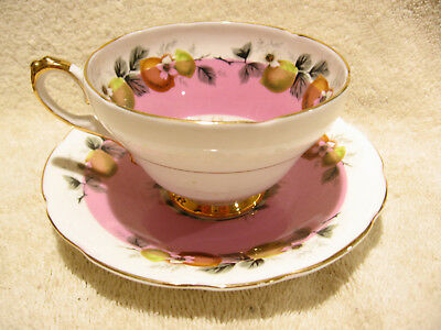 Vintage Royal Sutherland Staffordshire Fine Bone China Cup and Saucer