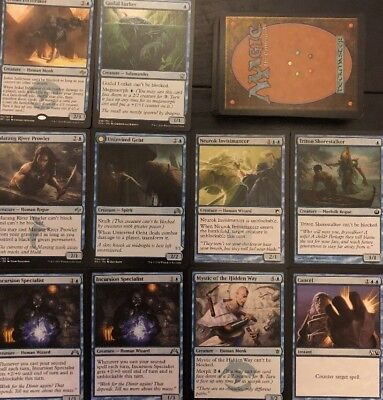 UNBLOCKABLE DECK! Ready To Play 60 Cards Mtg Blue