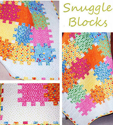 Snuggle Blocks - quick & easy pieced quilt PATTERN