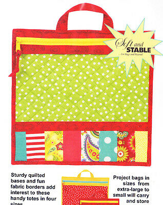 PATTERN - Project Bags - organizer bag PATTERN in 4 sizes - Patterns by Annie