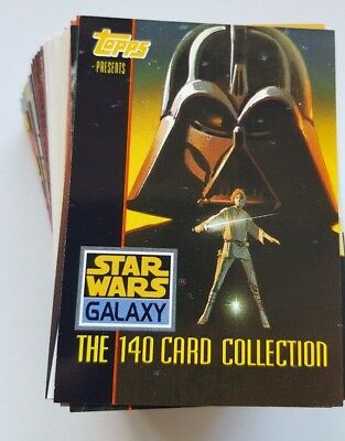 Star Wars Galaxy Series 1 Trading Card Complete Set - NM - 1993