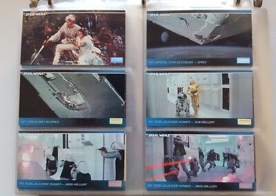Star Wars Widevision Trading Card Set - Series 1 - NM - Includes Card Pages