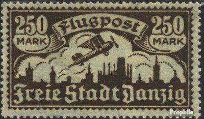 Gdansk 136 with hinge 1923 Airmail