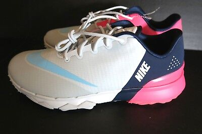 d12691d72db8 NIKE WOMEN S FI Flex Pure Platinum Golf Shoes 849973-001 Womens Size ...