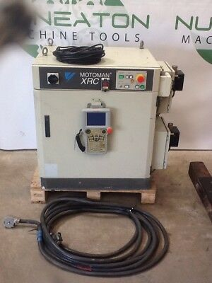 Yaskawa Motoman XRC Robot Controller With Leads And Teach Pendant
