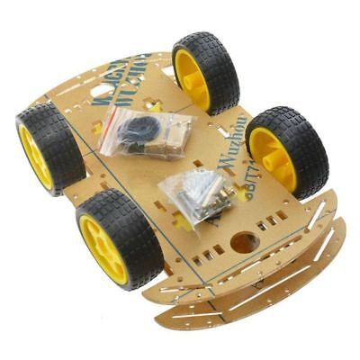 NEW 4WD Robot Smart Car Chassis Kits car with Speed Encoder for Arduino M26 R3T8
