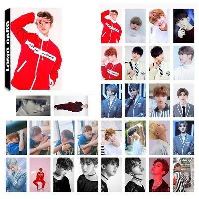 30pcs/set NINE PERCENT August Fan Chengcheng Poster Photo Card Lomo Cards Gift