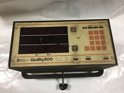 Quality Measurement Systems Quality 800 Readout Display Unit