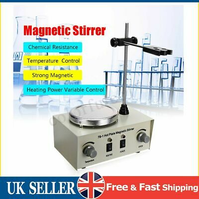 79-1 1000ml Hot Plate Magnetic Stirrer Lab Heating Dual Control Mixer 220V