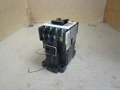 Fuji Electric Contactor SC11AA Type SC-03 110 Volt Coil Used