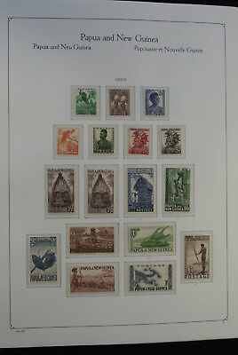 Lot 24952 Collection stamps of Papua New Guinea 1952-2006.