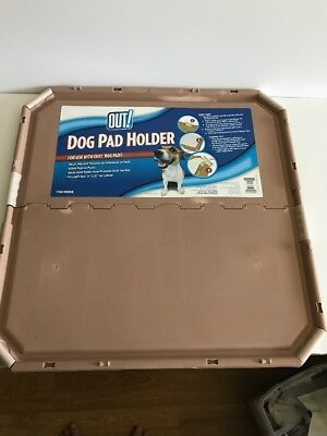 OUT! Training Pad Holder for Pets, Fits Pads 21 by 21-Inch Unused