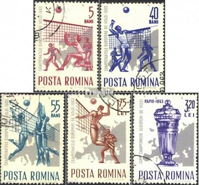 Romania 2184-2188 (complete issue) unmounted mint / never hinged 1963 european c