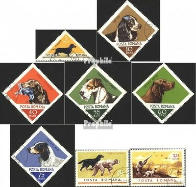 Romania 2470-2477 (complete issue) unmounted mint / never hinged 1965 Hounds