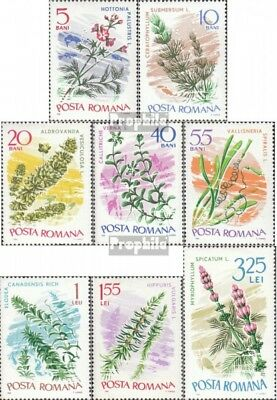 Romania 2525-2532 (complete issue) unmounted mint / never hinged 1966 Aquatic pl