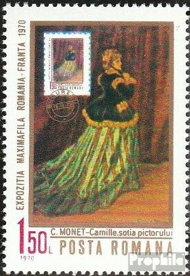Romania 2837 (complete issue) unmounted mint / never hinged 1970 Stamp Exhibitio