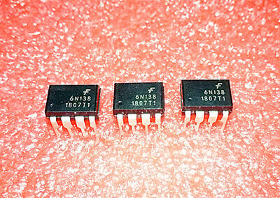 Hot  Sell   5PCS  6N138M  6N138   6NI38   DIP-8    Optocoupler  Chip