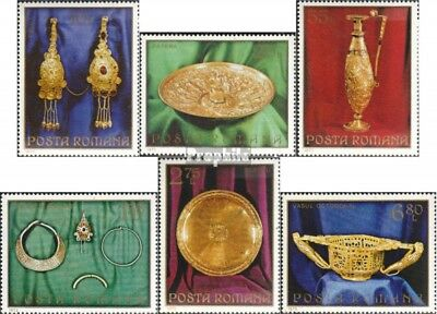 Romania 3140-3145 (complete issue) unmounted mint / never hinged 1973 gold treas