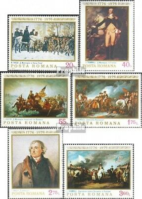Romania 3320-3325 (complete issue) unmounted mint / never hinged 1976 Independen