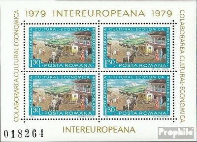 Romania block157 (complete issue) used 1979 INTEREUROPA