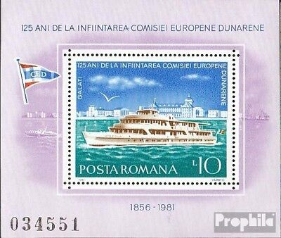 Romania block176 (complete issue) unmounted mint / never hinged 1981 European da
