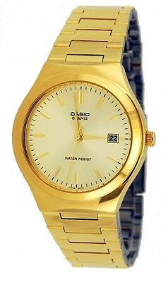 Casio MTP1170N-9A Mens Gold Tone Stainless Steel Analog Dress Watch Date