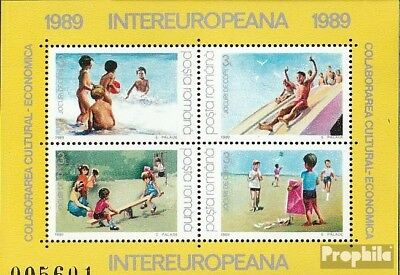 Romania block255 (complete issue) unmounted mint / never hinged 1989 INTEREUROPA