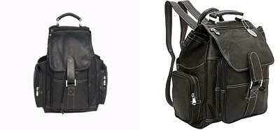 David King & Co. Deluxe Top Handle Extra Large Backpack, Black, One Size