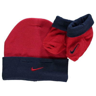 NIKE ~ Babies Size 0 - 6 months ~ Beanie & Booties Set ~ MBC