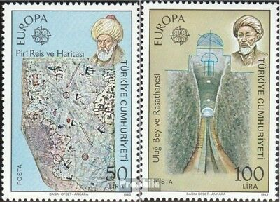 Turkey 2631-2632 (complete issue) unmounted mint / never hinged 1983 great Works