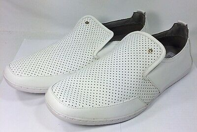593893daf85 Steve Madden Faderr Men's Size 12 Leather Loafers Turntable DJ Rare Tags