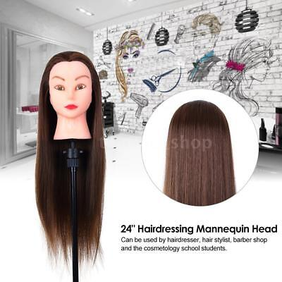 Adjustable Hairdressing Tripod Hair Training Mannequin Doll Holder Wig Stand