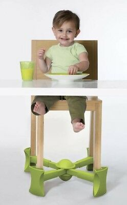 Kaboost Booster Seat Dining, Green Goes Under Chair Portable Toddlers