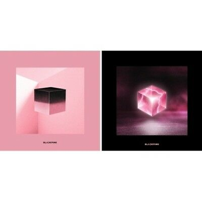 BLACKPINK[Square Up]1st Mini Album Random CD+Book+Lyrics+Selfie+Card+Gift