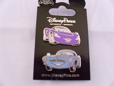 Disney * CARS - FINN McMISSILE & HOLLEY SHIFTWELL * 2 Pin Set * New on Card