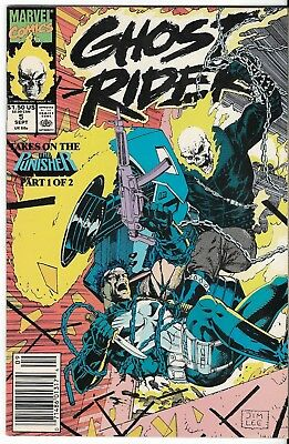 1990 Ghost Rider Issue #5 Marvel Comic Book Bag/board Vg-Mt Vintage Rare