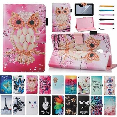 For Samsung Galaxy Tab A 8.0 2017 T380 T385 Tablet Smart Flip Leather Cover Case