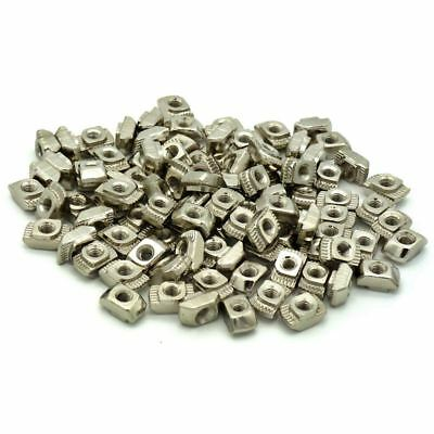 Post Assembly M3 T Nut for 2020 Profile Pack of 100 G8C4