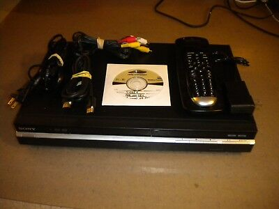 SONY RDR-HX780 DVD/HDD 160GB Combo Recorder with Harmony One Remote HDMI