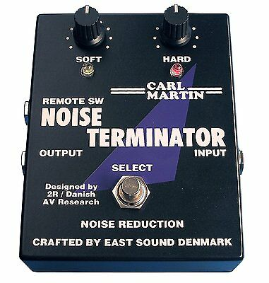 Carl Martin Noise Terminator Noise Reduction Guitar Effect Pedal