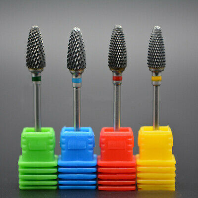 Pro Safety Tungsten Steel Carbide Rotary Nail Drill Bit Nail Art Salon Manicure