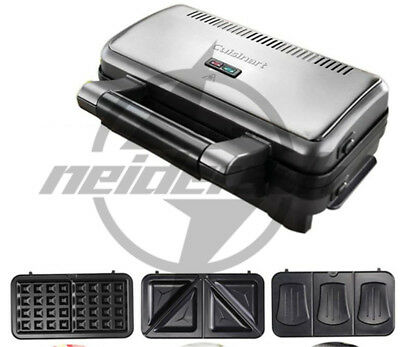 New Cuisinart Household multi-functional waffle machine Grills Sandwich Makers