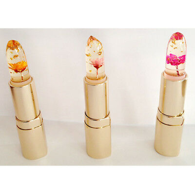 AUTHENTIC KAILIJUMEI TRANSPARENT Flower Jelly Lipstick Temperature Color Change - $5.69 | PicClick