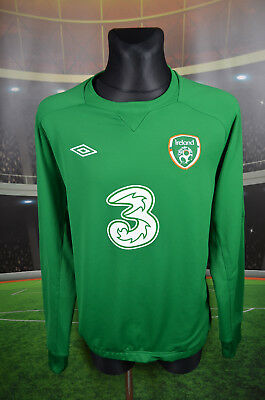 Ireland Eire Umbro Training Football Soccer Jersey Xxl Jacket Tracksuit Blouse