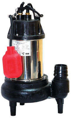 IBO SWQ15-7-1.1 SEPTIC Heavy Duty Submersible Sewage Dirty Water Pump 25m3/h 8m