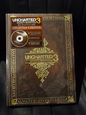 Uncharted 3 Drakes Deception, Lösungsbuch Collectors Edition, NEU & OVP