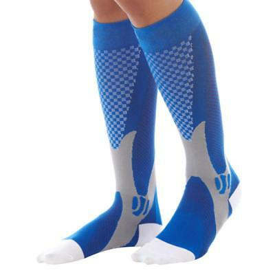 Unisex Compression Socks Leg Support Stretch Outdoor Sport Sleeves For Running
