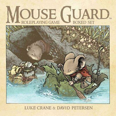 Mouse Guard Roleplaying Game Box Set, 2nd Ed. by David Petersen 9781608867554