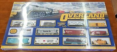 New Sealed Bachmann Overland Limited HO Scale Electric Train Set