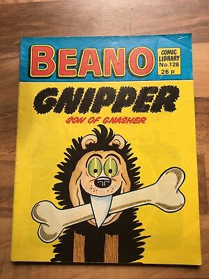 Beano Comic Library 128 Gnipper Son of Gnasher